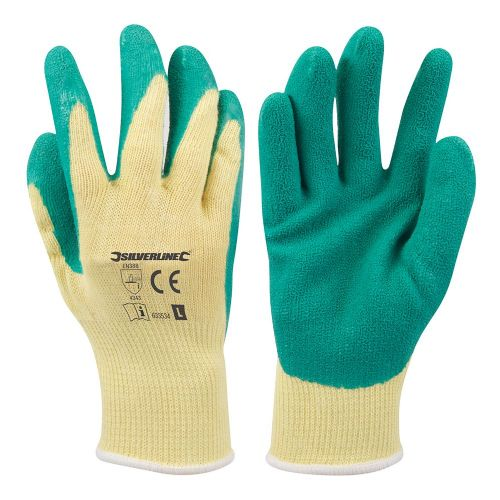 Silverline 633534 Cut Resistant Safety Work Gloves Large